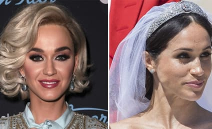 Katy Perry Actually Said WHAT About Meghan Markle's Wedding Dress?!?