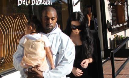 Kim Kardashian Gives Kanye Haters The Finger