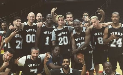 Justin Bieber: MVP of Kanye's Birthday Basketball Game! Watch Him Show Off His Skills!