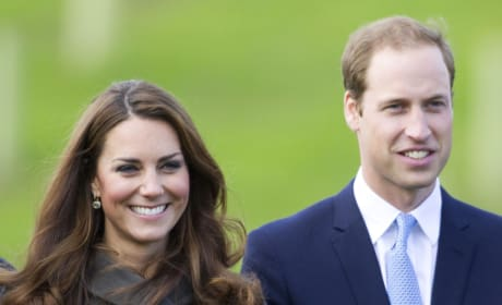 Catherine Middleton and Prince William