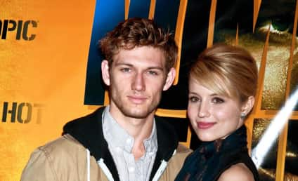 Dianna Agron and Alex Pettyfer: It's Over!