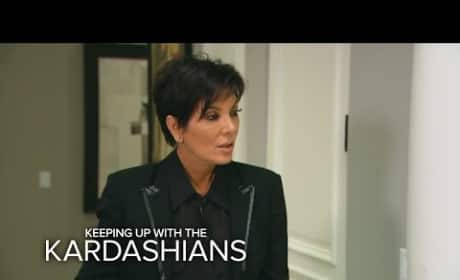 Keeping Up with the Kardashians Clip: Krying Kris Jenner