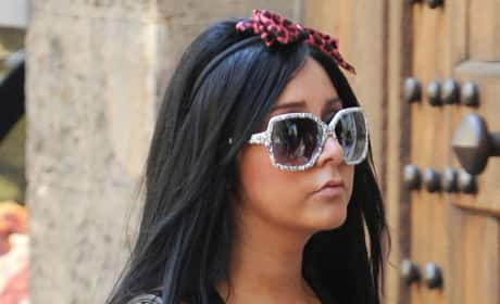 Snooki in Italy