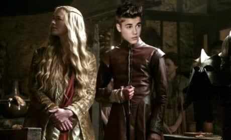 Justin Bieber as Joffrey