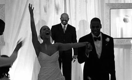Beyonce Wedding Photo
