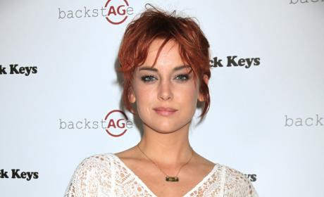 Jessica Stroup Goes Red