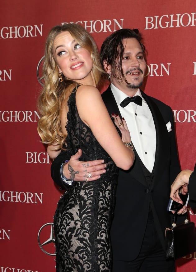 Johnny Depp: Drunk With Amber Heard!
