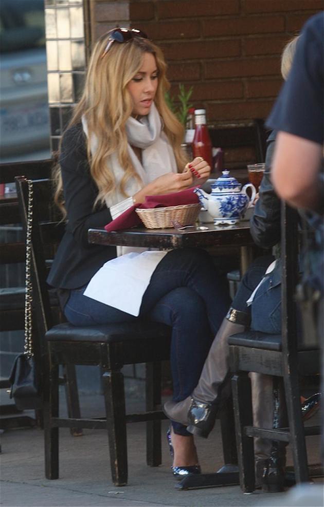 Lauren Conrad at Lunch