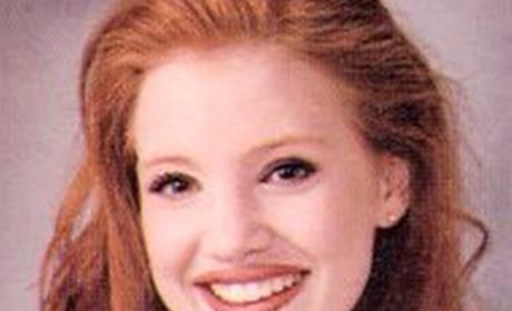 Jessica Chastain Yearbook Photo