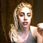 Gaga Twitpic