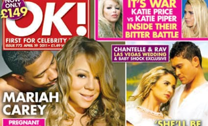 Mariah Carey Naked, Pregnant Tabloid Cover Take Two: Nick Cannon Joins In!