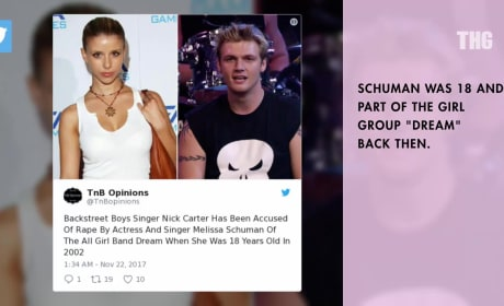 Melissa Schuman Accuses Nick Carter of Rape