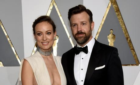Olivia Wilde and Jason Sudeikis at the Oscars