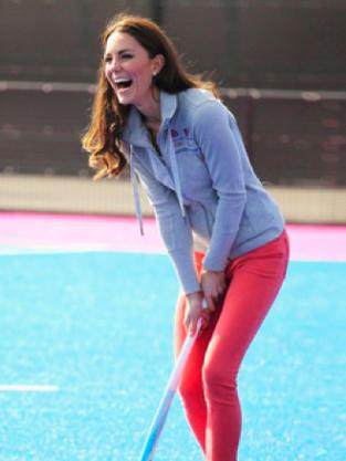 Sporty Kate Middleton