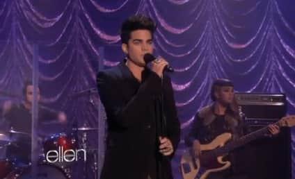 Adam Lambert Performs New Single on Ellen
