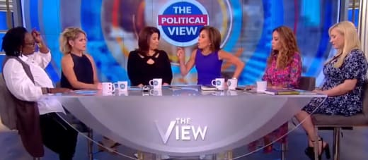The View Jeanine Pirro vs Whoopi Goldberg Fight Fight Fight