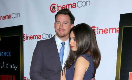 Mila Kunis and Channing Tatum Photo
