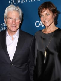 Richard Gere and Carey Lowell