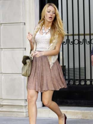 Blake Lively Fashion 2011