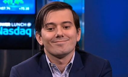 Martin Shkreli: Pharma Douche Got So Mad at Bernie Sanders He Pretended to Punch a Wall
