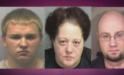 Babysitter Gives Young Girls Tattoos, Mother's Boyfriend Tries to Burn Them Off; All Arrested