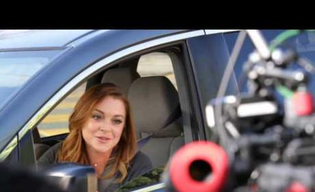 Lindsay Lohan Super Bowl Commercial