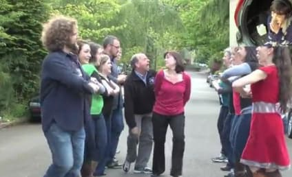 Presenting: The First-Ever Marriage Proposal Lip Dub!