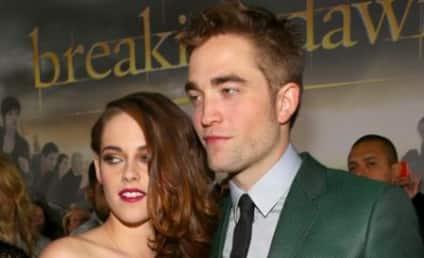 Robert Pattinson: Spotted Outside Kristen Stewart's Home?!?
