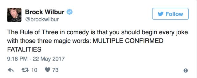 David Leavitt: Journalist Jokes About Manchester Bombing