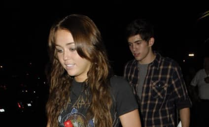 "Carter Jenkins Had a ""Very Fun Night"" with Miley Cyrus"