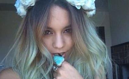 Celebrity Hair Affair: Vanessa Hudgens Goes Blue!