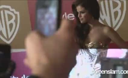 Selena Gomez: Drunk at Golden Globes Party?