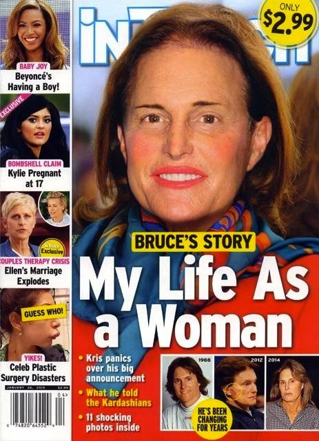 Bruce Jenner In Touch Cover