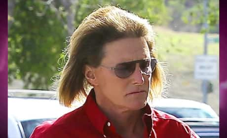 Bruce Jenner: Gaunt, Long-Haired
