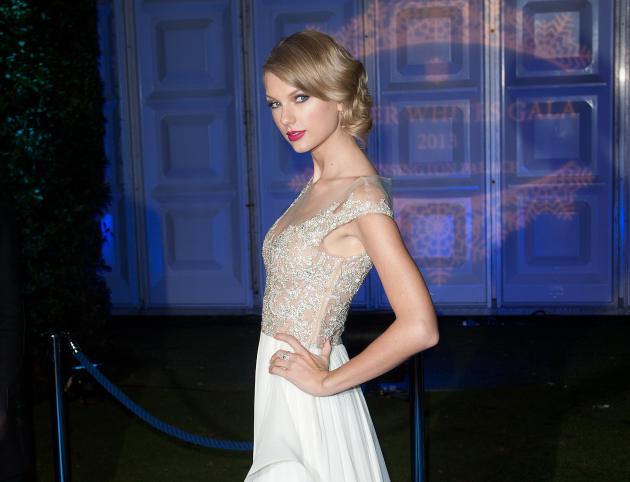 Taylor Swift in the UK