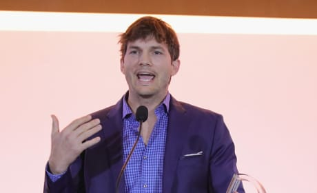 Ashton Kutcher Talks A Lot