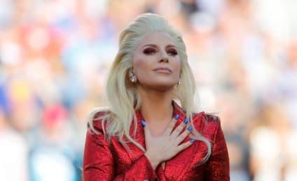Lady Gaga National Anthem: Watch It Again!