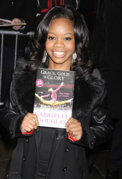 Gabby Douglas Book Photo