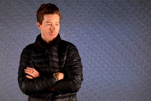 Shaun White in Black