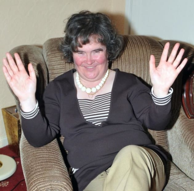 Died susan boyle The Real