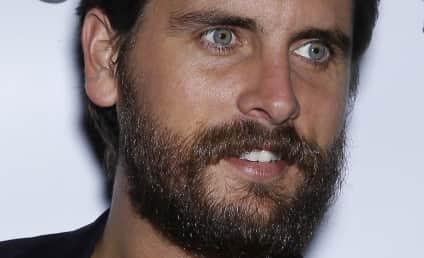 Scott Disick: Boozing HARD, Urged By Kimye to Get His S--t Together!