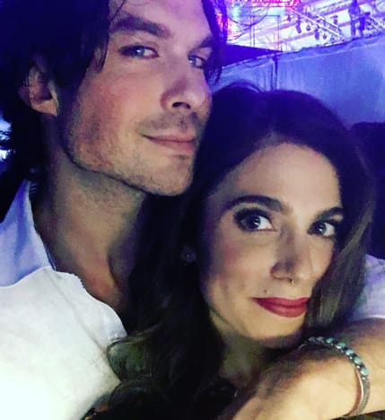 Ian Somerhalder and Nikki Reed, Cuddling