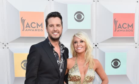 Luke Bryan and Caroline Boyer: 51st Academy of Country Music Awards