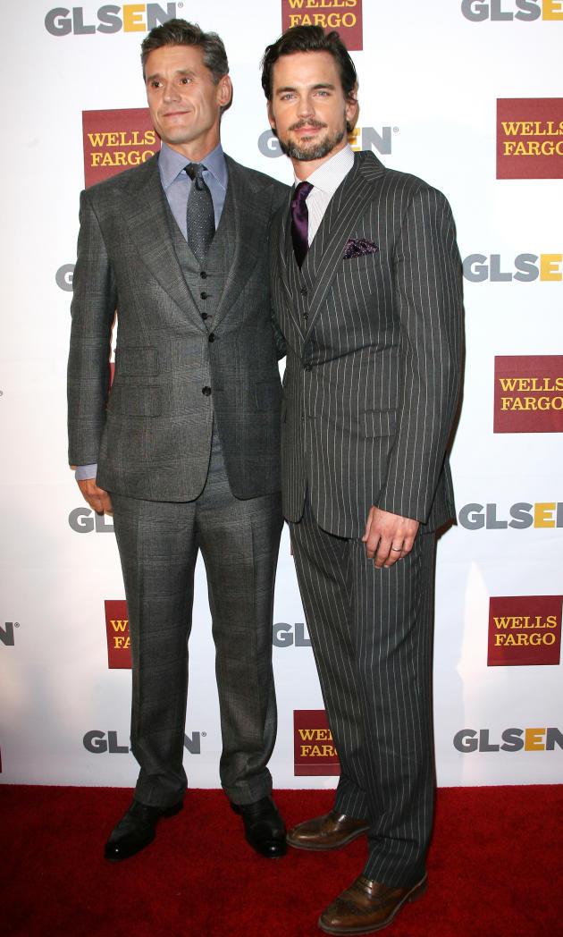 Matt Bomer and Simon Halls Photo