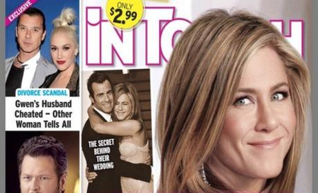 Jennifer Aniston In Touch