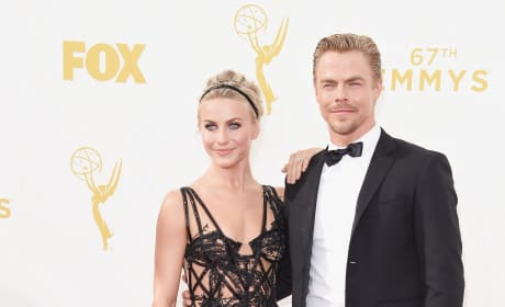 Julianne Hough and Derek Hough Get Dressed Up