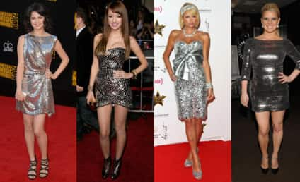Celebrity Style Trend: The Disco Ball Dress