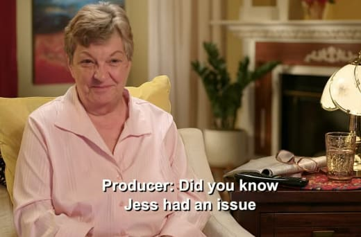 Debbie Johnson hears - did you know that Jess had a problem [with Vanessa]?