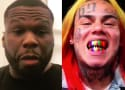 50 Cent and 6ix9ine Flee for Cover After Shots Fired on Set!