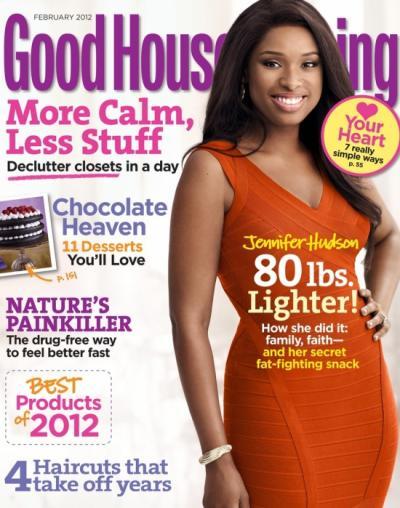 Jennifer Hudson Good Housekeeping Cover